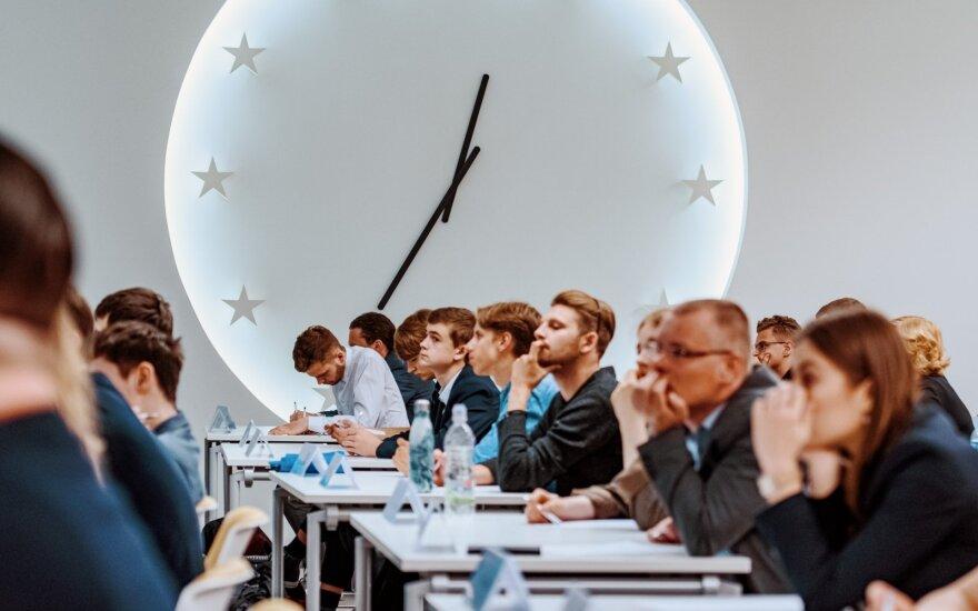 """""""Europos egzamino 2019"""" finalo akimirka"""