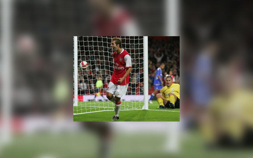 """Mathieu Flamini (""""Arsenal"""")"""