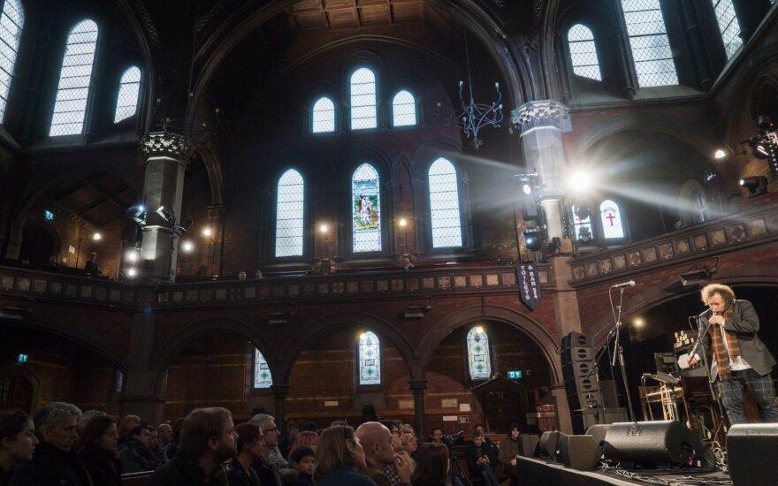Lietava koncertas Union Chapel FOTO: Paul Hudson