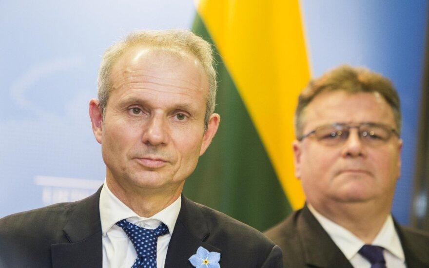 David Lidington and Linas Linkevičius