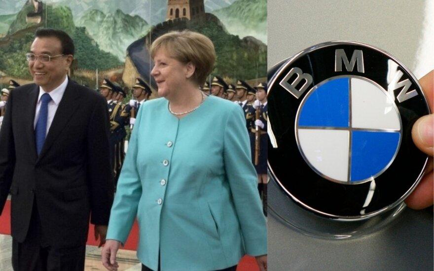 Kol automobilių gamintojai būgštautja dėl tarifų, Vokietija ir Kinija rezga naujus planus