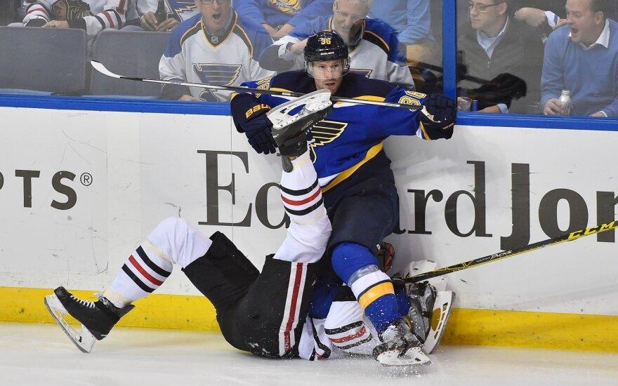 """NHL:  """"Blues"""" - """"Blackhawks"""""""