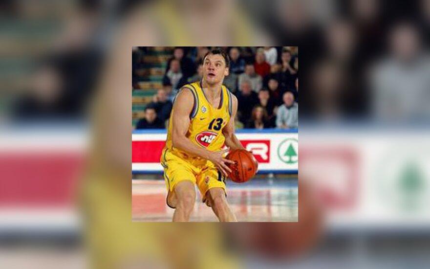 """Šarūnas Jasikevičius """"Maccabi"""""""