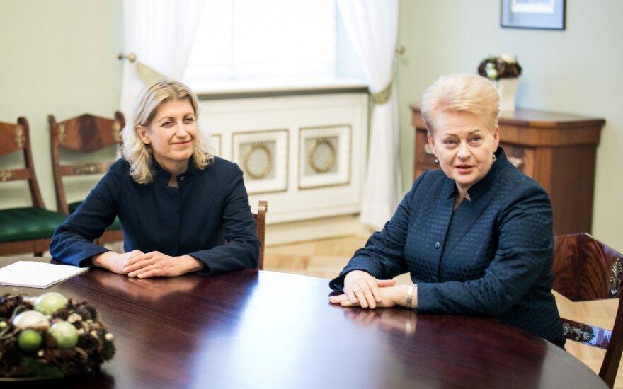Grybauskaitė pasirašė dekretus dėl trijų ministrų atleidimo
