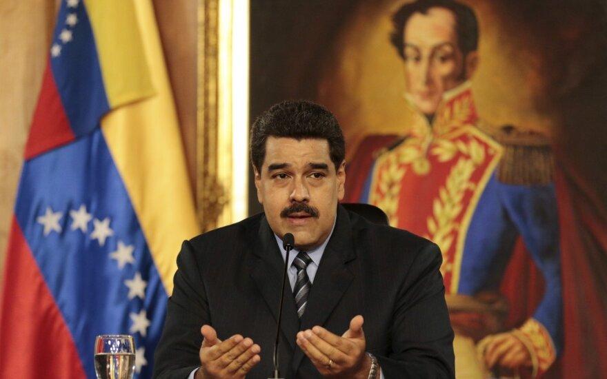 Venesuelos prezidentas N. Maduras kreipėsi į teismą, siekdamas užkirsti kelią referendumui dėl nušalinimo