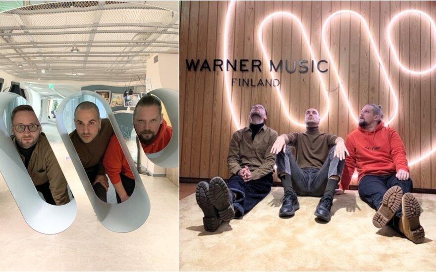 """""""The Roop"""" grupės nariai Suomijoje"""
