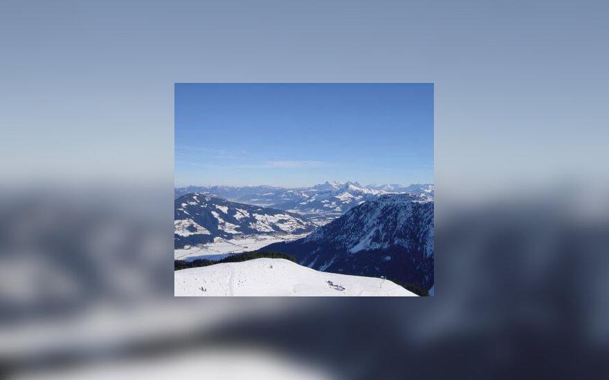 kalnai, žiema