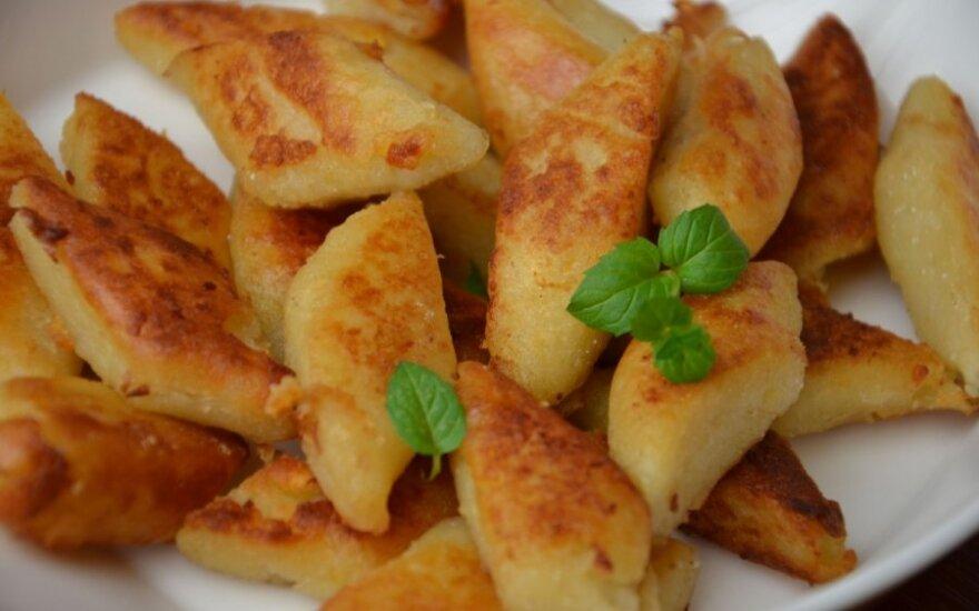 Skrudinti bulvių virtinukai