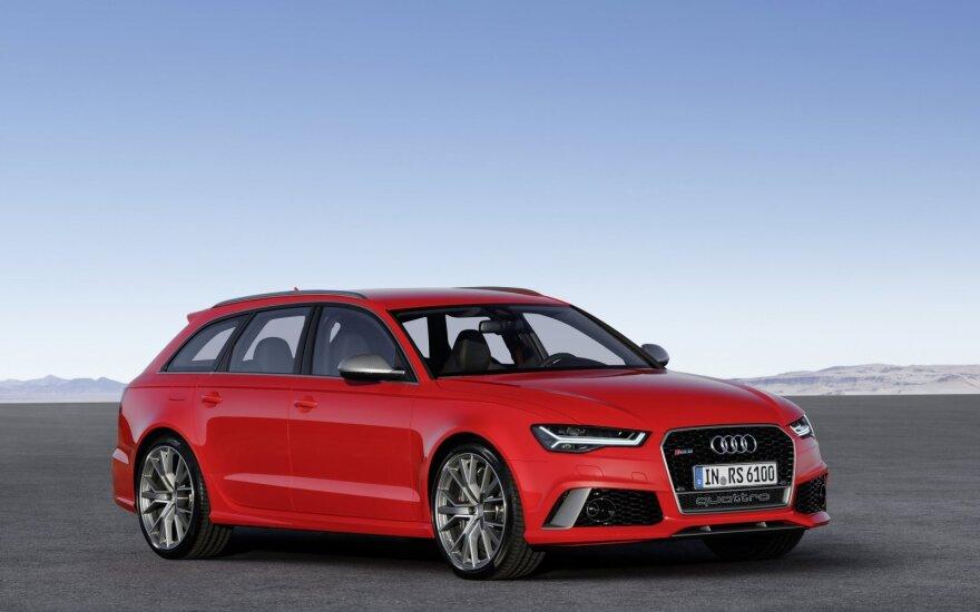 """Audi RS 6 Avant performance"""