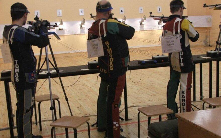 Paaiškėjo Lietuvos asmeninio šaudymo sporto pneumatiniais ginklais čempionai