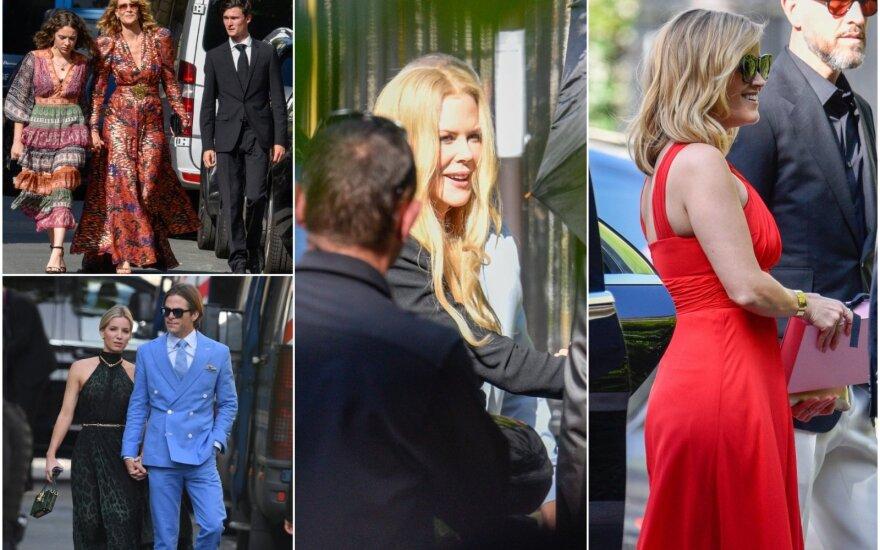 Zoe Kravitz vestuvių svečiai