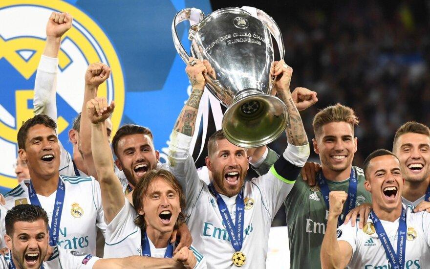 """Madrido """"Real"""" - Čempionų lygos nugalėtoja"""