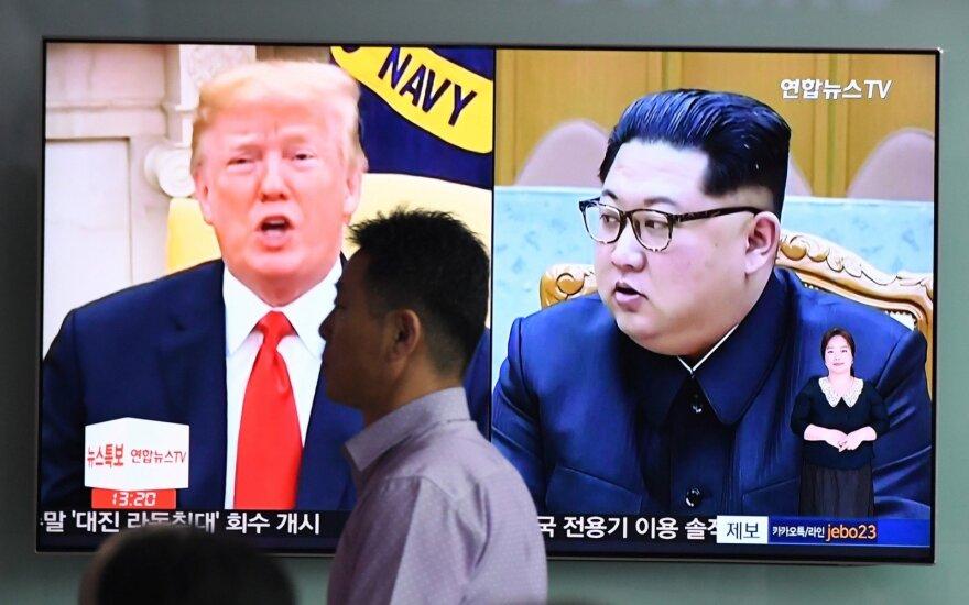 Nobelio taikos premija - Trumpui ir Kim Jong-unui?