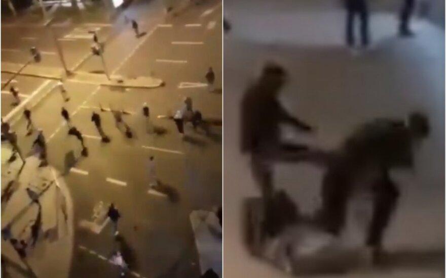 Sukrečiančio smurto naktis Vokietijoje: sėdim ant parako statinės