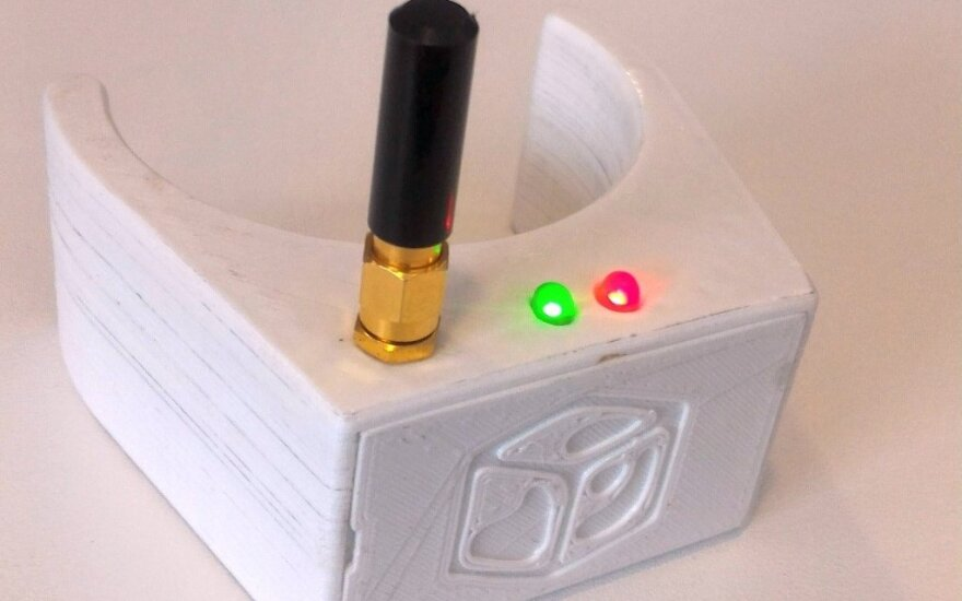 KTU studentų pagamintas išmanusis termometras