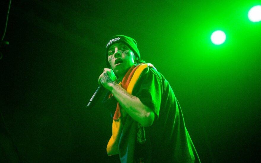 Vienas ryškiausių šių dienų hiphopo atstovų planetoje Lil Xan šokdino Vilnių