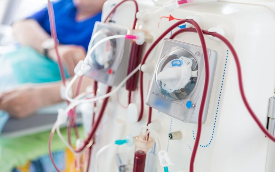 Parengtos rekomendacijos dializės pacientams ir personalui