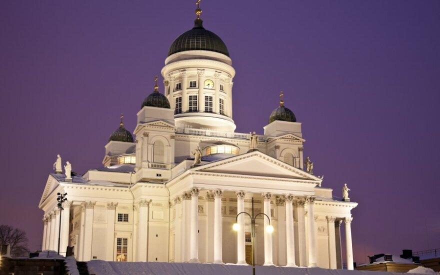 Suomijos ekonomika nugrimzdo į recesiją
