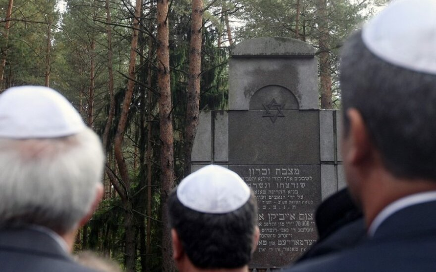 Vilnius hosting memorial events on Holocaust Day