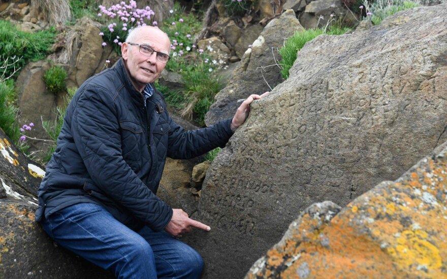 Skelbia konkursą: įminę mįslę, kas parašyta ant akmens, gaus tūkstantinę sumą