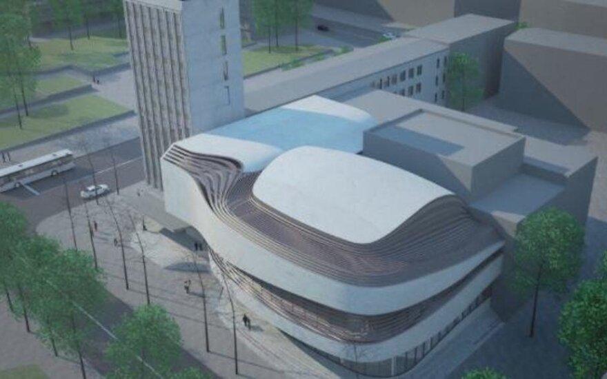 Kaip atrodys būsimieji Klaipėdos Muzikinio teatro rūmai Europos kontekste?