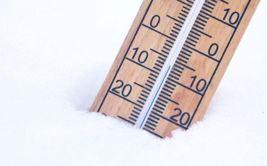 Po lietingų švenčių džiugins žiemiški orai – temperatūra kris žemiau nulio