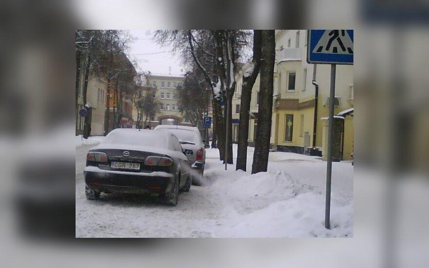 Šiauliuose, Varpo g. 2010-01-07, 12.35 val.