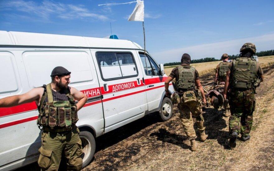 Rytų Ukrainoje – valymo operacija