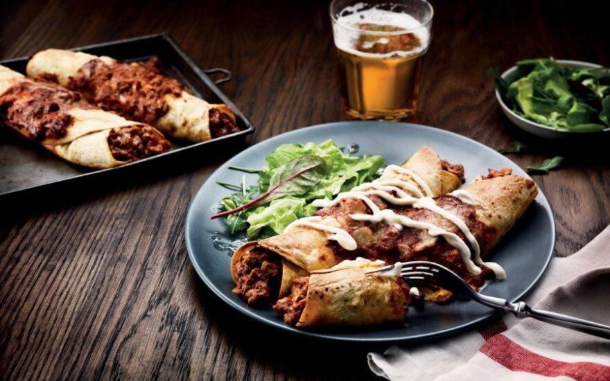 Enčilada (Enchilada) su vištiena