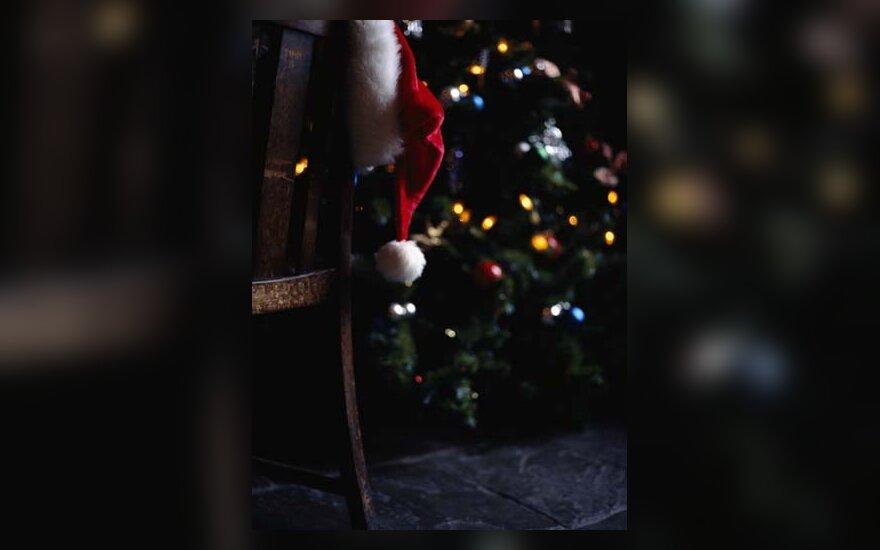 Kalėdos, šventė, džiaugsmas, Kalėdų senelis, eglutė