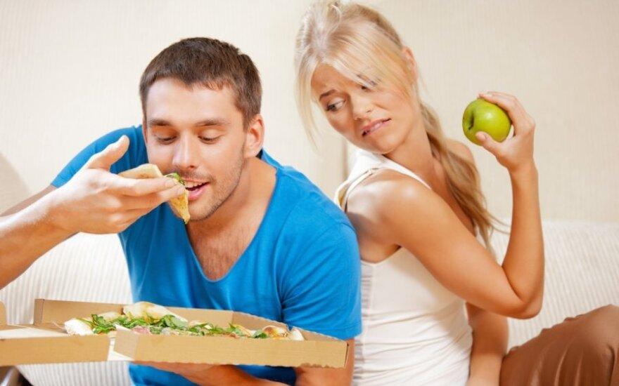 Ko šiukštu neduoti vyrams ir ką valgyti moterims