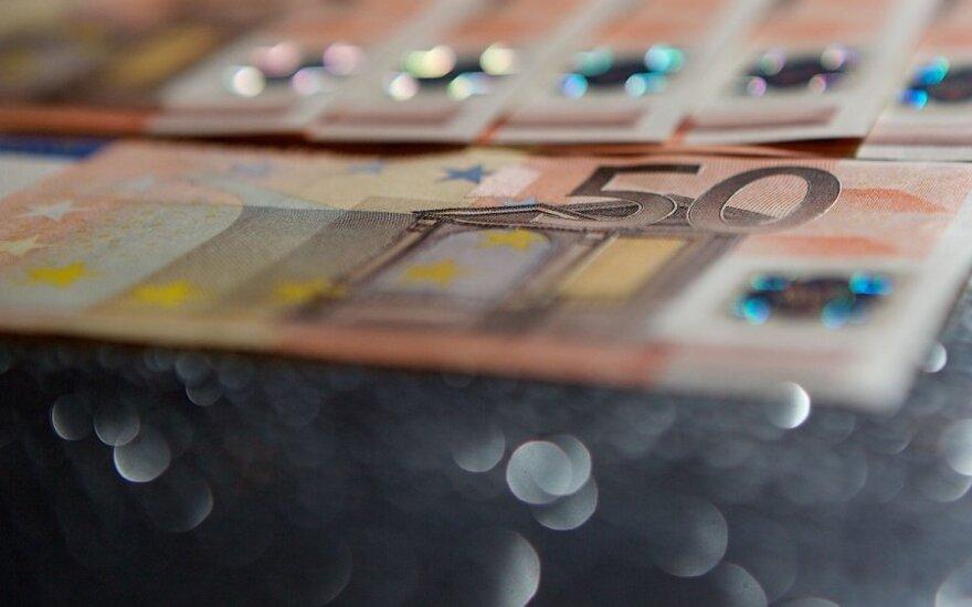 Dauguma Lietuvos gyventojų praėjusią savaitę atsiskaitė eurais