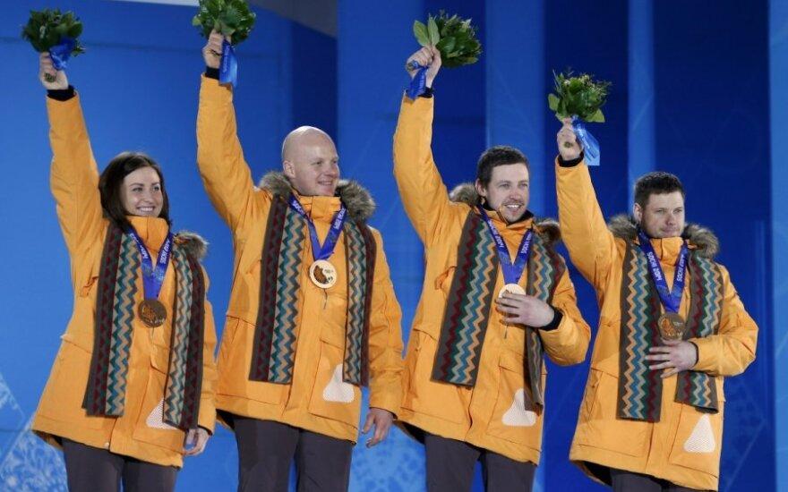 Latvijos bronzinė rogučių komanda