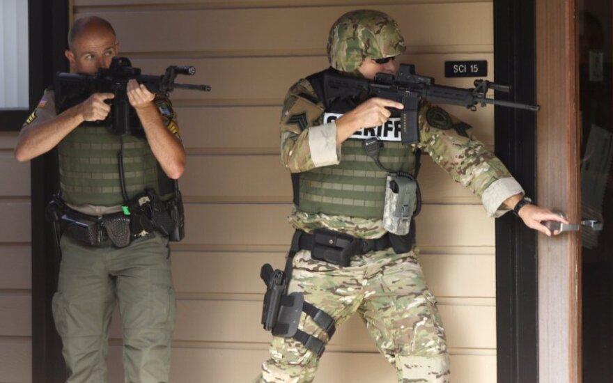 Didvyriškas poelgis: Oregono šaudynių metu karo veteranui teko penkios kulkos