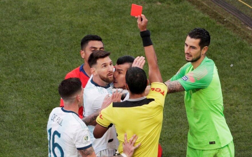 Lionelio Messi išvarymas
