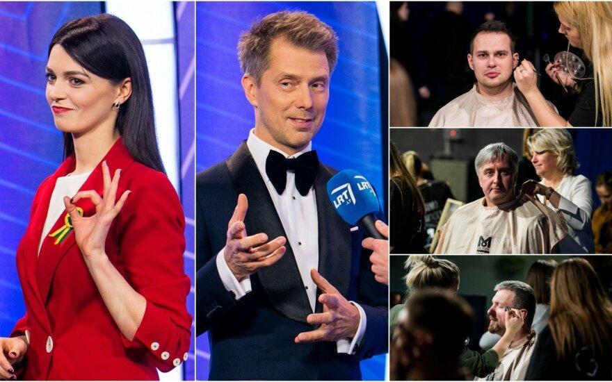 """""""Eurovizijos"""" pusfinalio užkulisiai"""