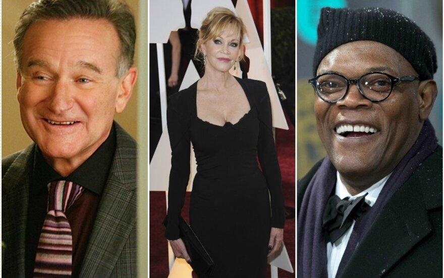 Robinas Williamsas, Melanie Griffith, Samuelis L Jacksonas