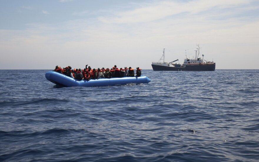 Migrantų valtis netoli Maltos krantų