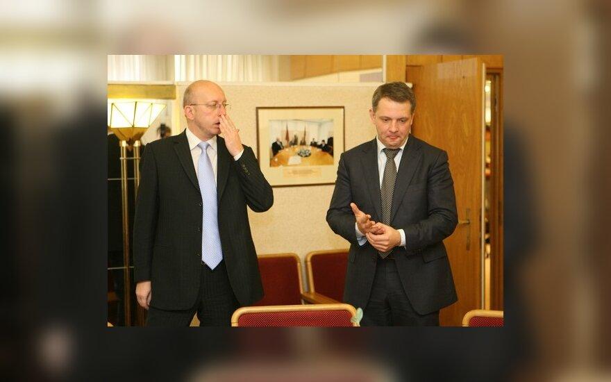 Arūnas Valinskas ir Eligijus Masiulis