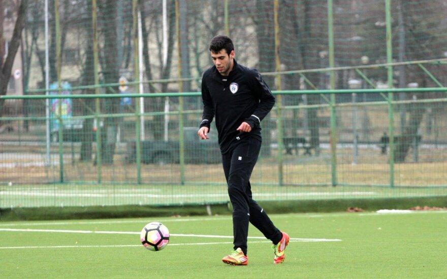"""FC """"Stumbro"""" naujokas Andre Silva"""