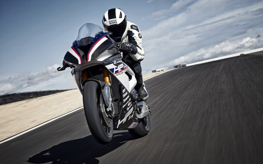 """Naujasis """"BMW HP4 Race"""""""