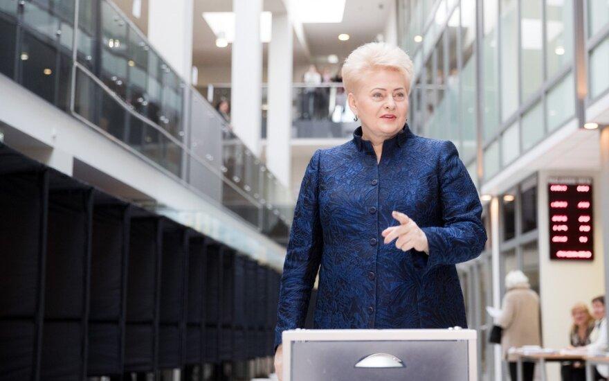 Grybauskaitė: tegu ateitis nesutrikdo šiandienos