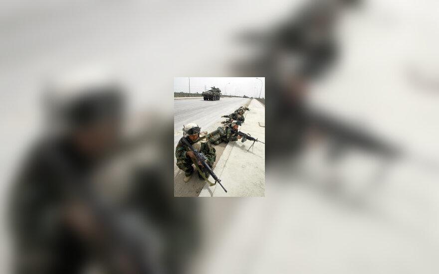JAV jūrų pėstininkai, karas Irake