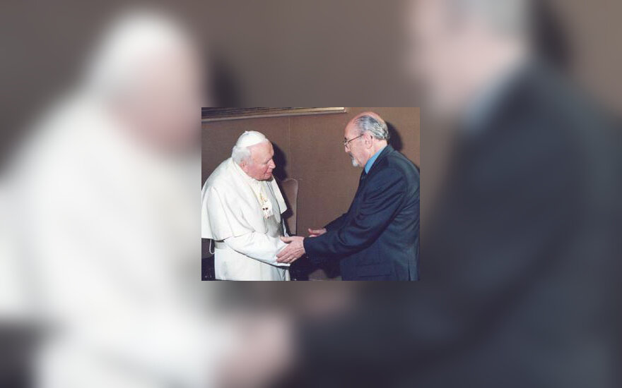 Hanna Jamilis Nasseras ir popiežius