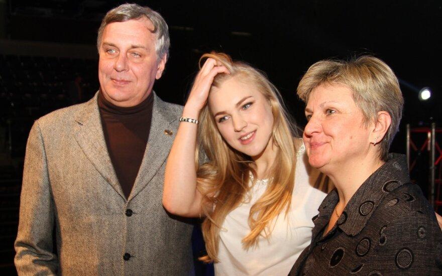 Robertas Žulpa, Rūta Meilutytė ir Lina Kačiušytė
