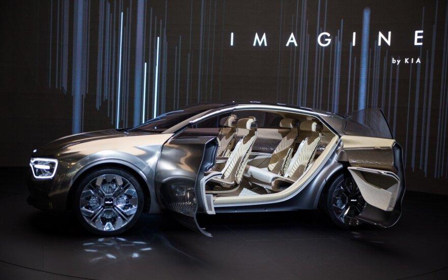 """""""Kia"""" Ženevoje parodė savo svajonių modelį """"Imagine by Kia"""""""