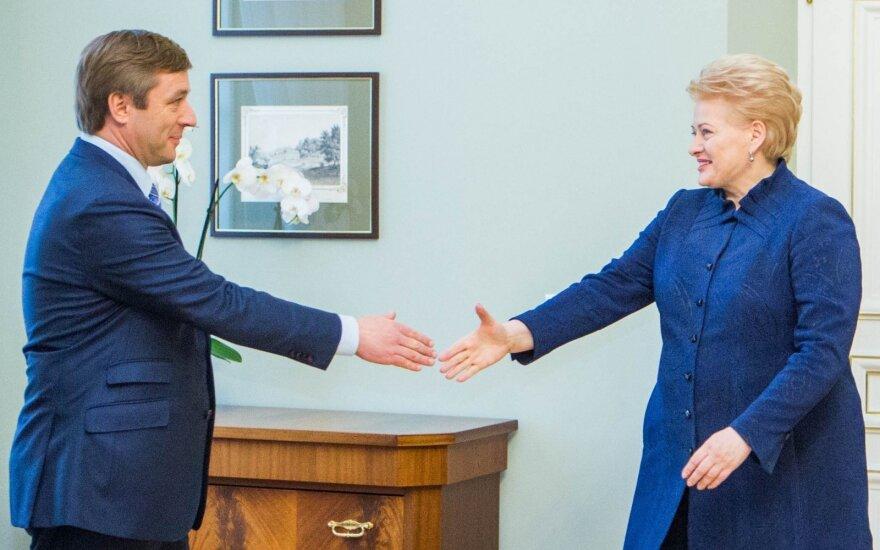 Ramūnas Karbauskis, Dalia Grybauskaitė
