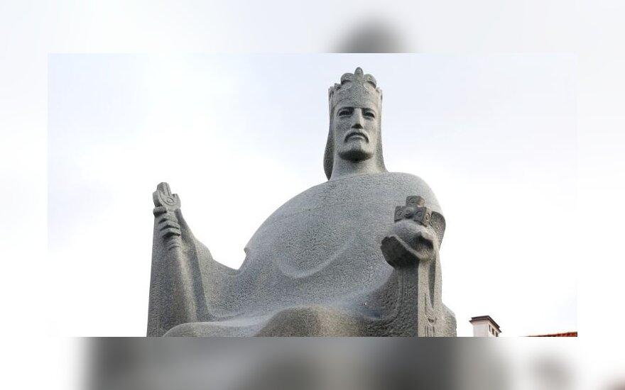Statue of King Mindaugas in Vilnius