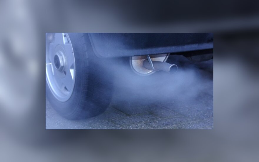 Automobilio išmetamos dujos