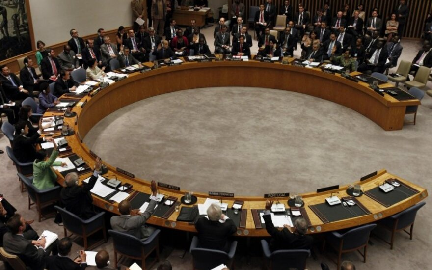 Russia and China boycott Lithuania-organized UN meeting on Crimea